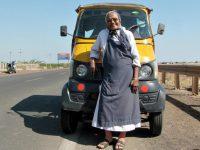 "India. Mother Teresa of Mithapur"" feeds mentally ill on Gujarat roadsides"