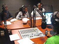 Uganda. Radio Wa, the people's voice.