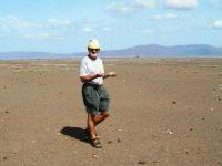 Kenya. The missionary dowser