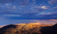 Cape Town in South Africa is the third most populous city in the country.