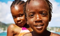 Children are the wealth and happiness of the poor. (Haitian)