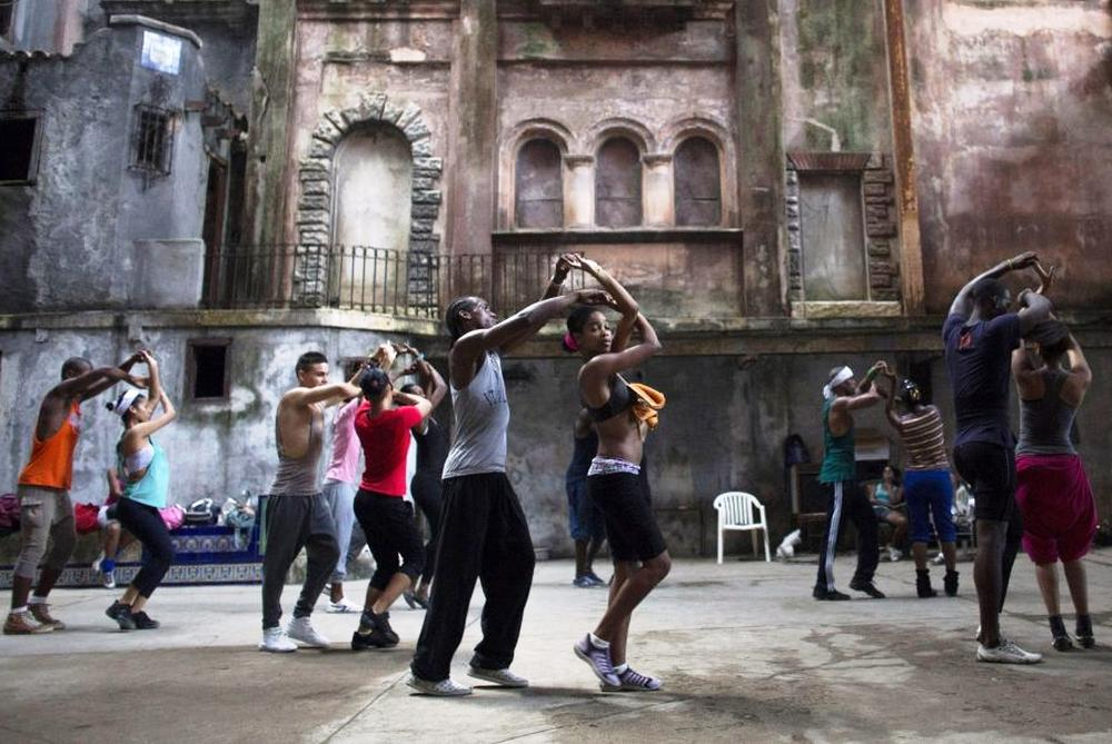 "A school in Rumba. The dance is in the heart of ""habaneros""."
