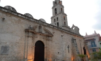The Church and convent of St Francis of Paola, significant places in Cuban history.