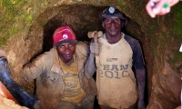The gold mining sector generates from one to two billion dollars in revenue per year.