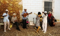 Those who can't dance say the music is no good. (Jamaica)