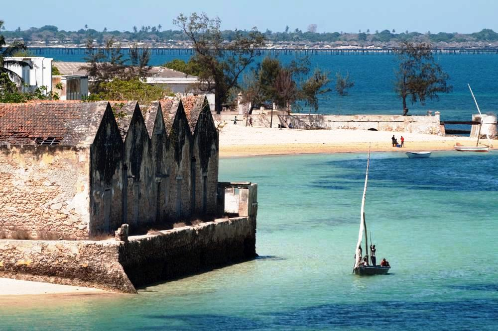 Mozambique Island, view from the Fort of San Sebastian