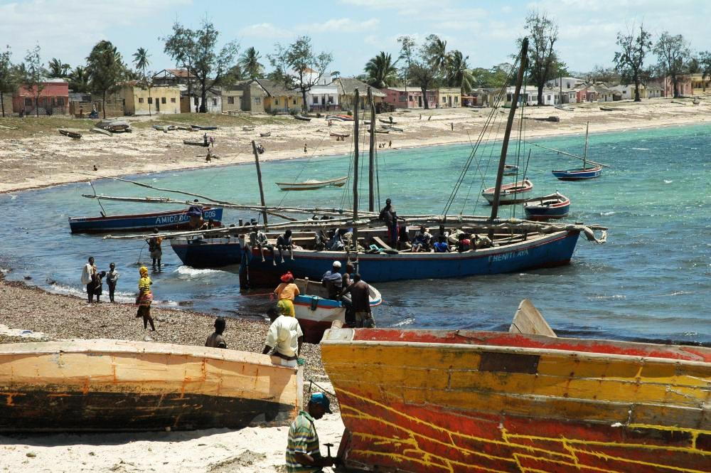Mozambique Island was the first capital of the country.