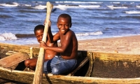 Mozambique Island is home to 12.000 people.