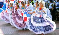 The Pollera the national costume of Panama.
