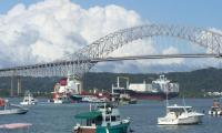 The Bridge of the America is a 1.5 km long structure that unites east and west of the isthmus of Panama.