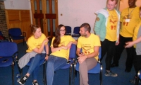 The young people experienced ten days filled with work, meetings, reflections and prayer.