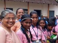 India. Nun builds  homes for poor people