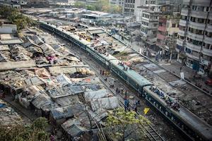Bangladesh, Railway as a Home
