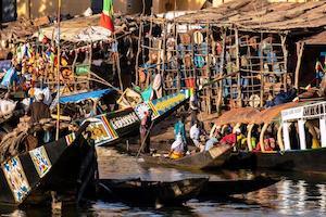 Mali. Along the Niger River