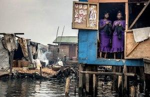 Nigeria. Life in Makoko, a slum community