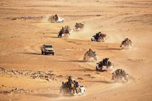 Niger. The Sahara Desert route.