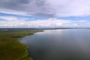 Zambia -. Where sky and water meet